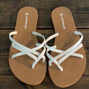 White Airwalk Sandals